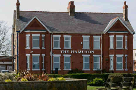 The Hamilton Hotel - Guesthouse stay for two with breakfast - Save 44%