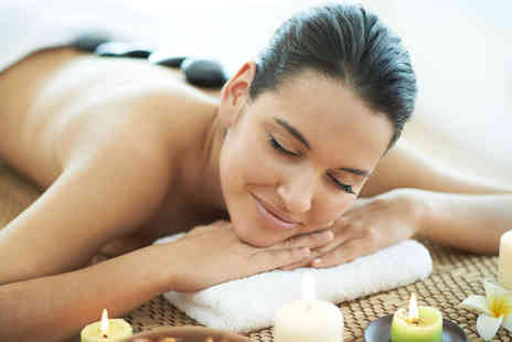 Jasmin Olivia - Hot stone massage for one with cake and wine - Save 51%