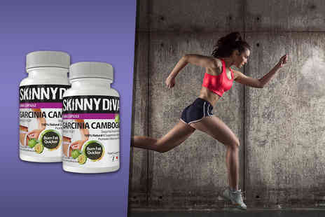Skinny Diva - 60 Garcinia Cambogia capsules Plus DELIVERY INCLUDED - Save 80%