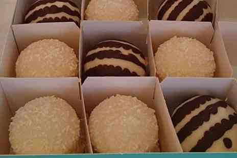 Cocomacs - Macaroon or Uno Cake with a Choice of Hot Drink for One - Save 0%