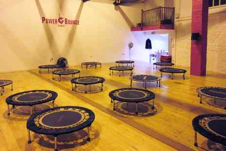 Power Bounce Fitness - Up to Six Cardio Trampoline Classes  - Save 0%