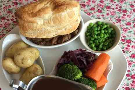 Fredericks - Steak and Ale Pie for Two  - Save 49%