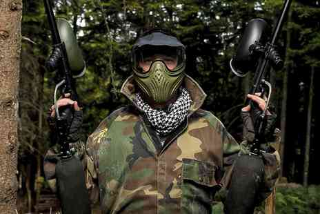 Point Blank Paintball - Paintball Package For Six  with Point Blank Paintball - Save 97%