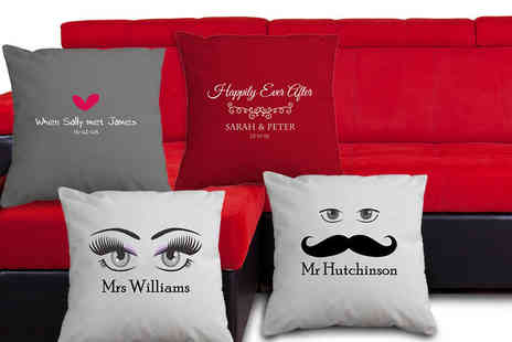 Great Photo Gifts - Personalised Valentines cushion - Save 65%