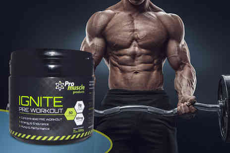 Pro Muscle Products - 250g of Ignite pre workout - Save 70%
