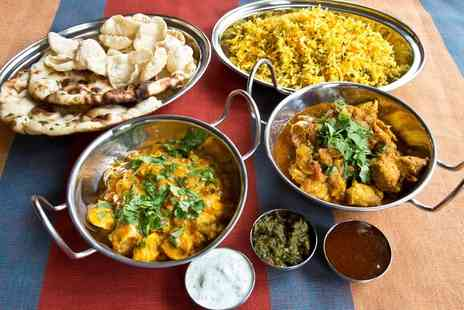 Spicy Kalkata Club - Two Course Indian Meal for Two - Save 46%