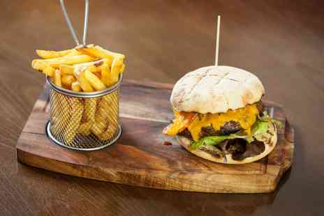 Pentland - Burger Meal with a Soft Drink for One  - Save 0%