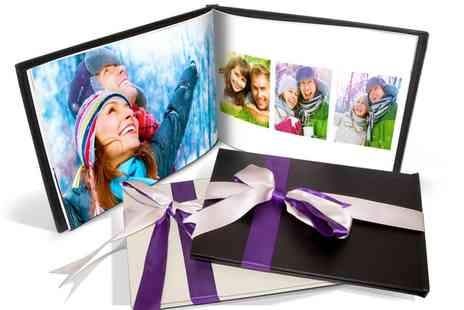 Printerpix - Personalised Valentina Leather Photo Book - Save 84%