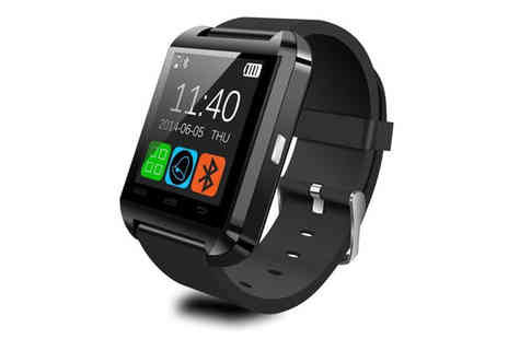 Eskkay - Bluetooth Smart Wrist Watch for Android & iOS - Save 91%