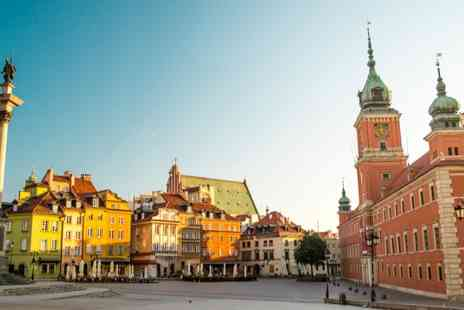 Platinum Residence - Two or Three Nights stay in Warsaw with flights & hand luggage included - Save 0%