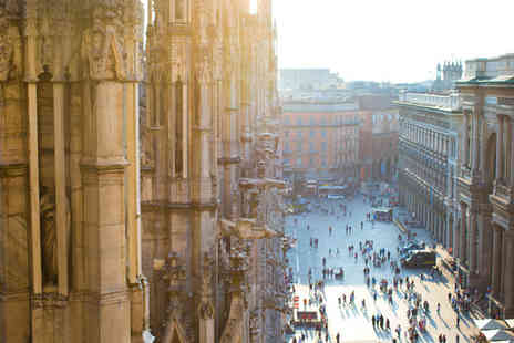 Worldwide Tours and Travel - Two or Three Night Milan B&B Getaway with Flights - Save 24%