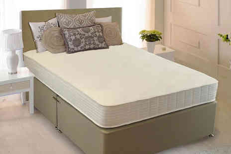 The Sleep People   - Single Silver Care 1000 mattress  - Save 83%