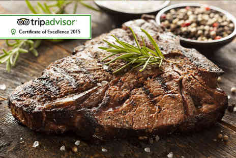 La Barbacoa - Steak meal for two   - Save 57%