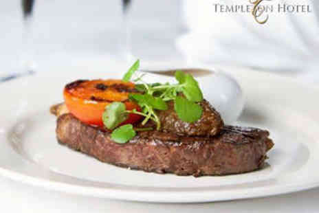 Templeton Hotel - Steak Meal for Two - Save 42%