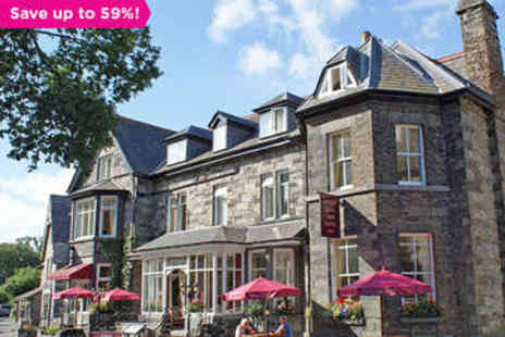 Glan Aber Hotel - One night stay in a standard room for Two includes a Two course meal  - Save 59%