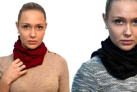 Groupon Goods Global - Cashmere Scarf in Choice of Colour With Free Delivery - Save 67%