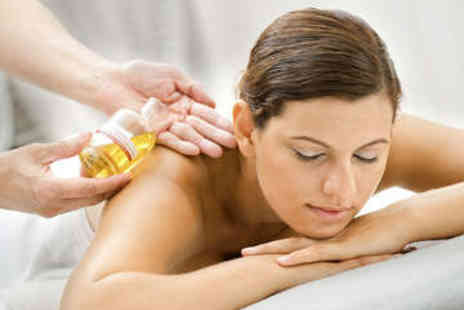 Beauty and the Spa - Aromatherapy Back Massage and Leg and Foot Massage - Save 65%