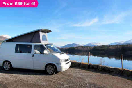 Rockinvans - Overnight Berth campervan trip for two - Save 0%