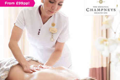 Champneys Tring - Overnight stay in a standard room, Plus Two treatments - Save 0%