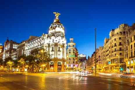 Hotel Principe Pio - Two, Three or Four Night in Spanish capital with breakfast, flights & hand luggage - Save 0%