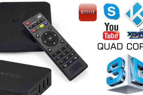 Eskkay  - MX Android TV Box Catch Up, Apps & More - Save 61%