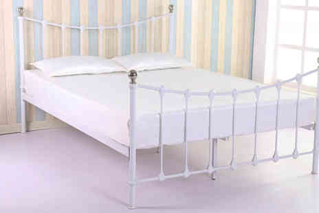 Sleep Design - Choice of Metal Beds - Save 64%
