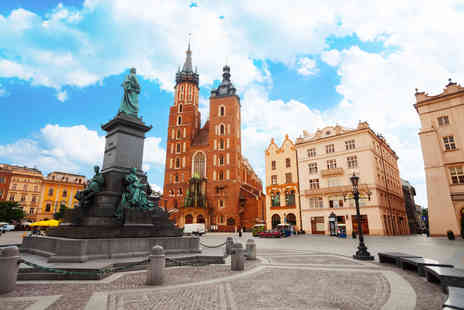 Jetline Travel   - Two or Three nights Krakow break including flights and spa access  - Save 32%