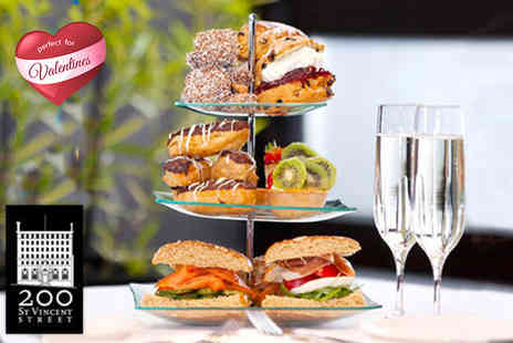 200 SVS - Luxury afternoon tea for two include a glass of Prosecco each on 6th - Save 57%