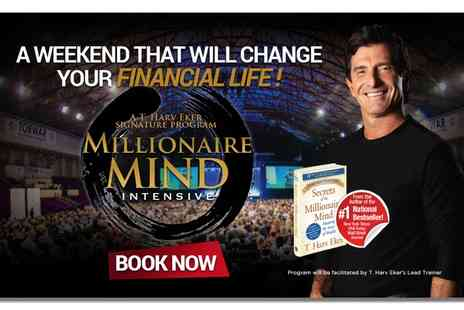 Success Resources - Millionaire Mind Intensive, General or VIP Package at Hotel ibis Earls Court, 15 to 17 April - Save 70%