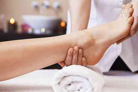 Jeannies Elms Sanctuary  - Deluxe Pampering Foot Massage with Optional Scalp Massage  - Save 0%