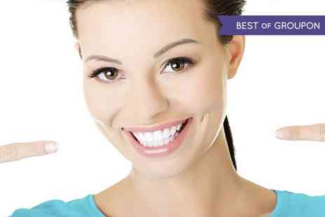 W1 Smile Street - Laser Teeth Whitening With Dentist For One or Two - Save 83%