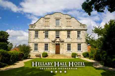 Hellaby Hall Hotel - Overnight Getaway For Two With Afternoon Tea, Access to Spa Facilities and Breakfast for £79 - Save 63%