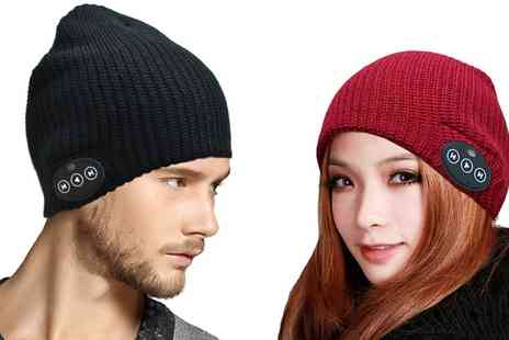 Groupon Goods Global GmbH - Bluetooth Audio Beanie Hat  - Save 60%
