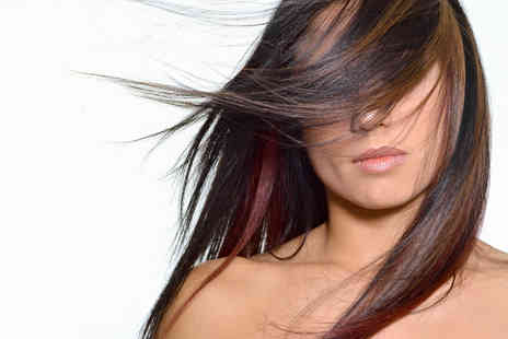 Glamour Hair & Beauty Salon - Full Head Colour  With Blow Dry - Save 53%