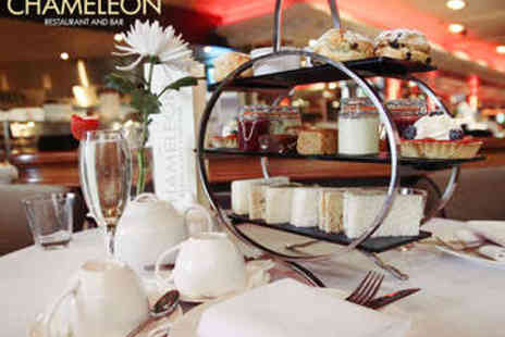 The Chameleon Restaurant and Bar - Afternoon Tea with Prosecco for Two - Save 49%
