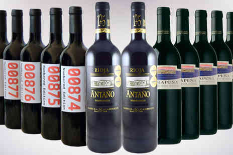 Global Deals - Spanish Red Wine Case - Save 63%