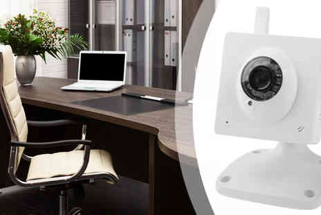 Euro Field - Wireless Cube IP Camera with Wi Fi - Save 60%