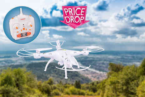 Globi Toys - Venus FX Vision Series remote control drone with a two megapixel camera - Save 76%
