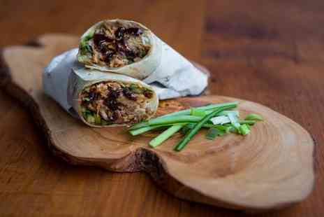 The Duck Truck Company  - One Duck Wraps with Duck Fat Chips and Soft Drink  - Save 55%