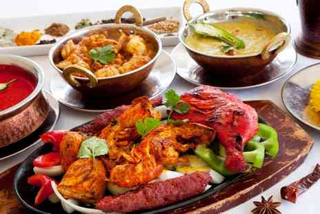 Nadee Restaurant - Two Course Indian Meal For Two  - Save 52%
