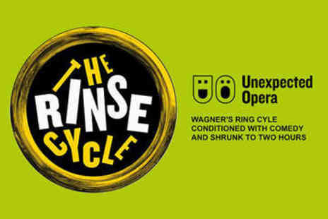 Charing Cross Theatre - The Rinse Cycle Tickets - Save 0%