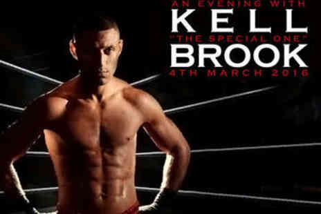 HS Presents - An Evening with Boxing Champion Kell Brook - Save 53%
