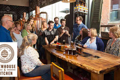 Brewhouse -  Beer Tasting Masterclass for Four  - Save 10%