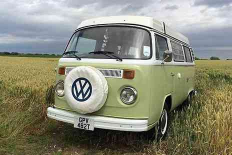 Sweet Campers - Three Night VW Campervan Hire For One - Save 47%