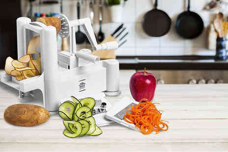 Zoozio - Three blade vegetable spiral slicer - Save 72%