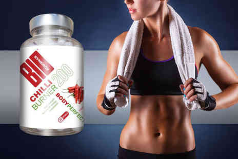 Bio Synergy - One month supply of Body Perfect Super Hot Chilli capsules  - Save 64%