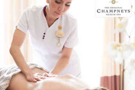 Champneys Tring -  One Night  Stay  including a welcome drink, complimentary robe and flip flop hire - Save 0%