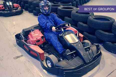 Bredbury Karting - 15 Minute Karting Lap Time for a Family of Two Adults and Two Children  - Save 0%