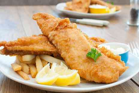 Harpers Fish and Chips - Two Course Fish and Chips Meal for Two - Save 53%