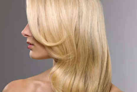 iCandy - Wash, Haircut, Blow Dry, and Half Head Highlights - Save 50%